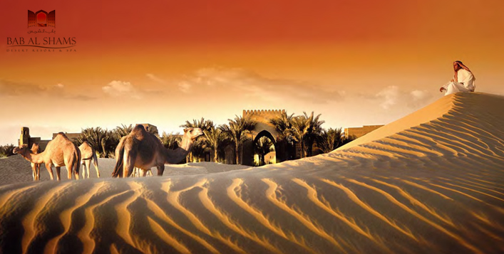Luxurious break amidst the dunes around Dubai