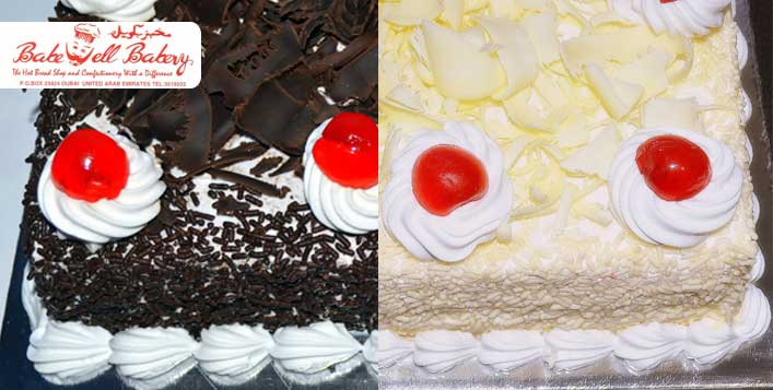 Delicious German Black Forest or White Forest
