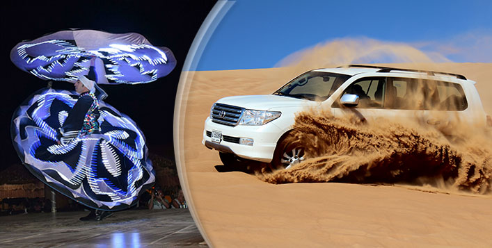 Desert Safari with BBQ Dinner + Entertainment