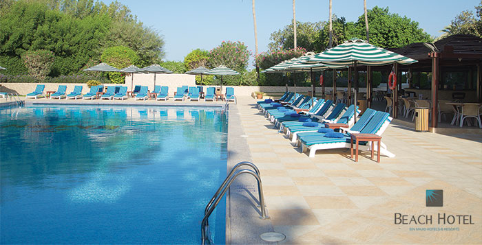 RAK Beach Resort 1 or 2 Night Stay + Meals