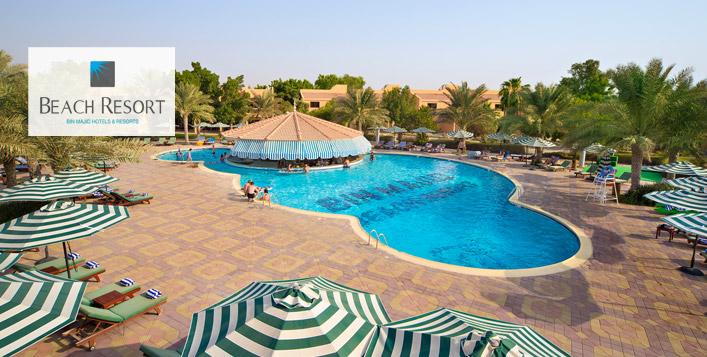 One night getaway in Ras Al Khaimah