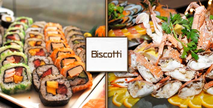 5* Seafood Open Buffet Every Thursday