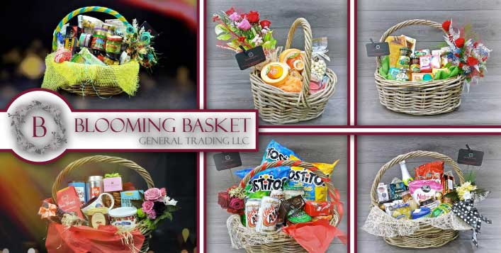Shop for products in dubai cobone blooming basket specialty gift hampers negle Images