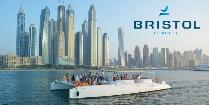 Cruise around Dubai's famous sites!