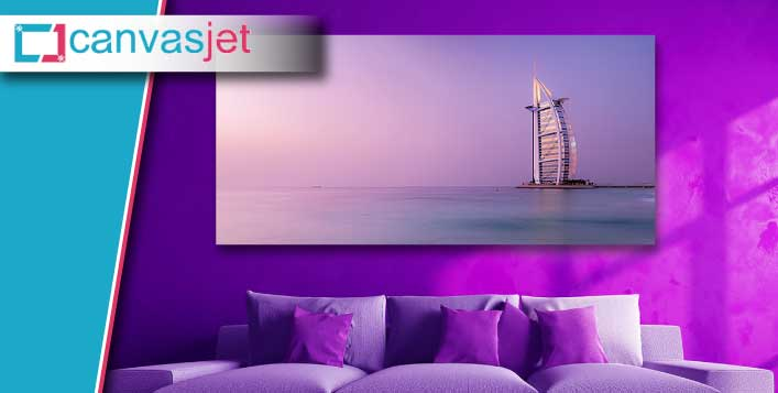 50% Discount on Canvas Prints of Dubai