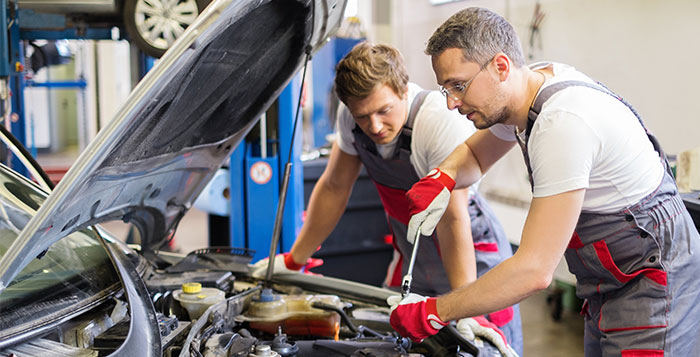 Oil & Filter Change at Car World Automobiles