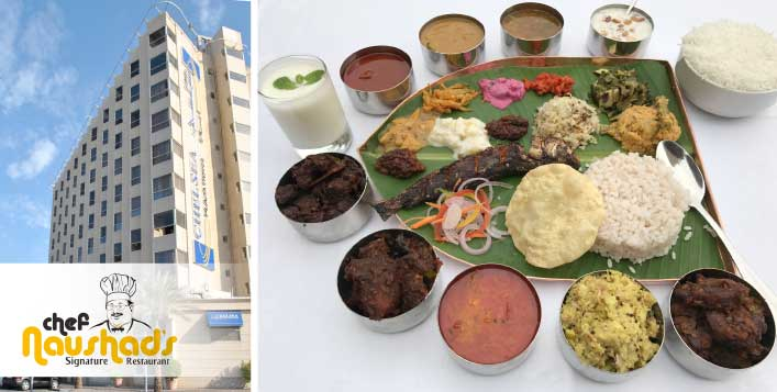 Delicious South Indian cuisine