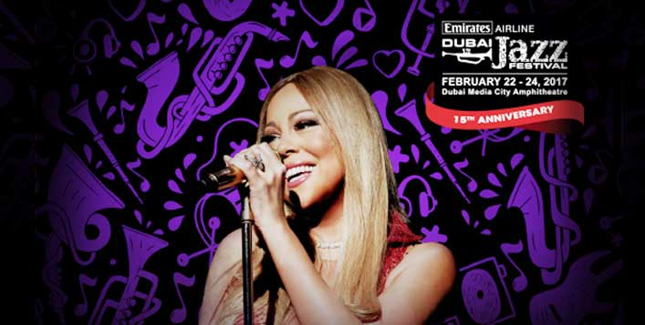 15th Dubai Jazz Festival 2017- 23 Feb Tickets