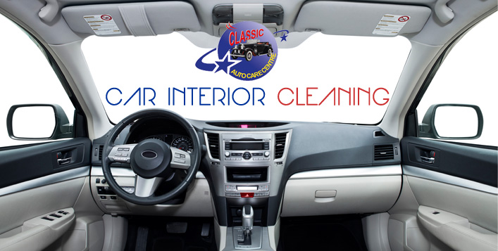 Complete interior and exterior cleaning!