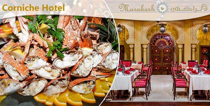 5* Seafood Dinner Buffet @Marakesh Restaurant