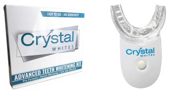 White teeth in the comfort of your home