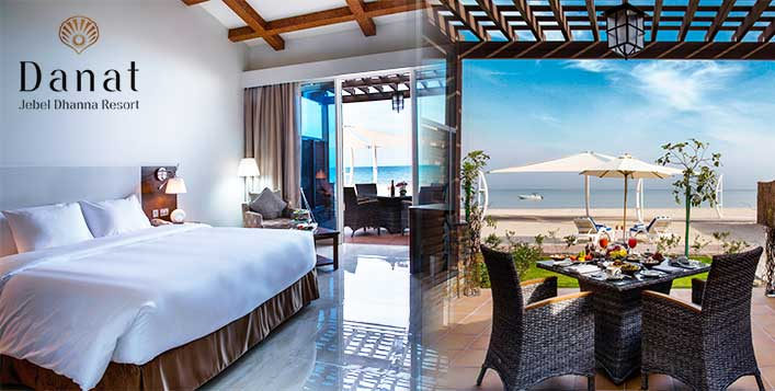 Stay in a deluxe room or beachfront chalet