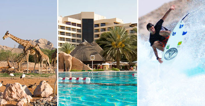 Stay, Activities & Meals in Danat Al Ain
