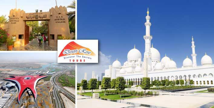 Abu Dhabi City Tour + Transportation