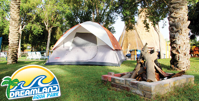 Includes all camping equipment
