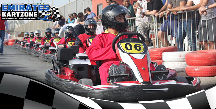 Fastest karts in the Middle East!