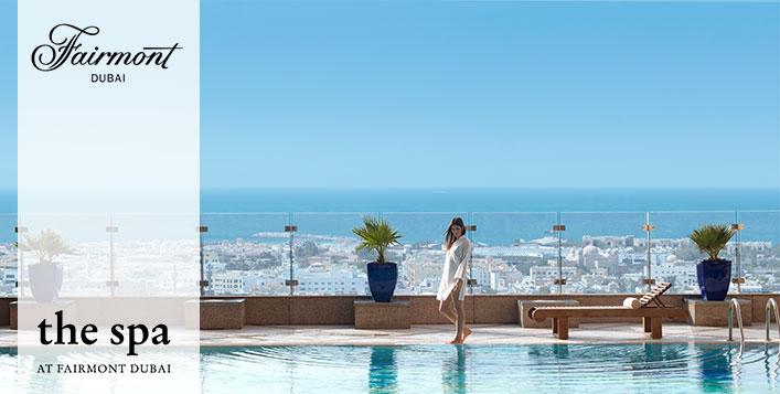 Gym & Pool Access at 5* Fairmont Dubai