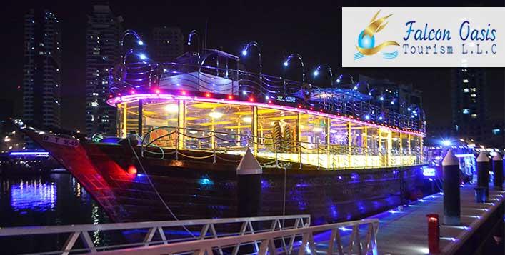 Le Fleur's Marina Dubai Dhow Cruise