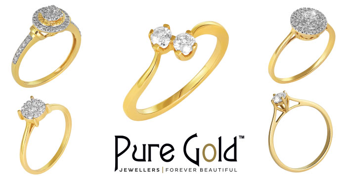18K Gold Ring Collection