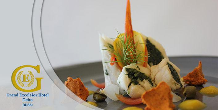 Enjoy a grand meal at Terrace Restaurant