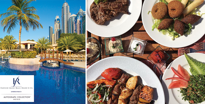 Dine in Style at Habtoor Grand Resort & Spa