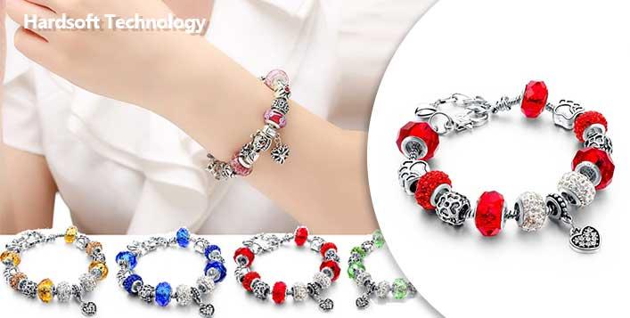 Handmade bracelets in 4 colour options