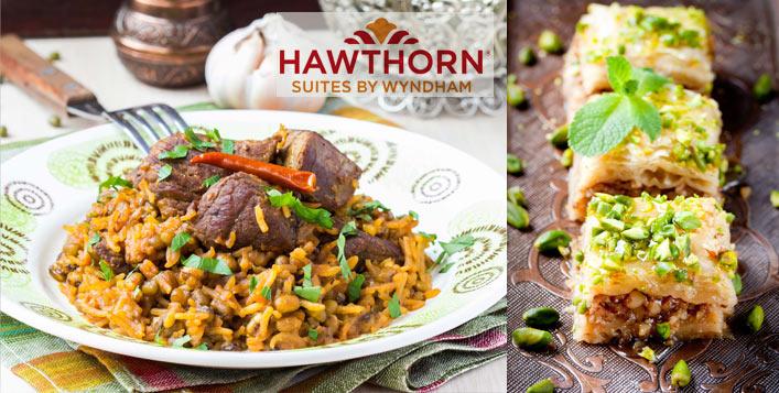 Generous Iftar Buffet + Ramadan Juices