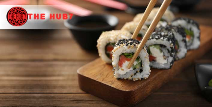 Learn from professional Japanese Sushi chef