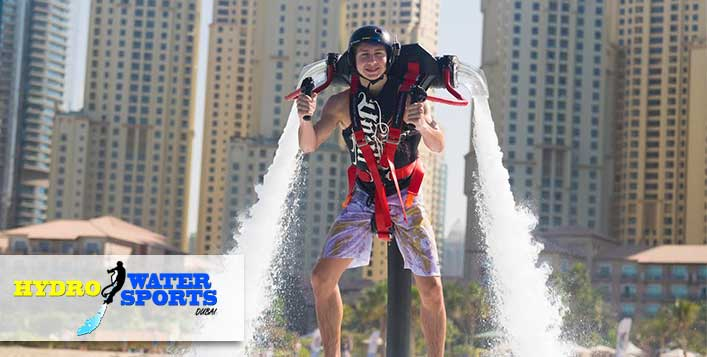 Soar over the waves with Hydro Water Sports