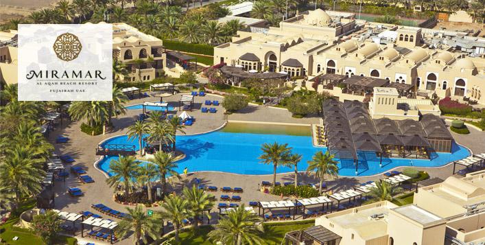 Iberotel Miramar Al Aqah Resort Ramadan Stay
