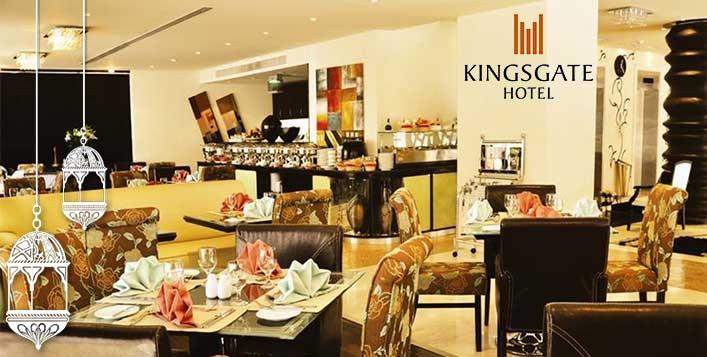 Delicious Iftar Buffet Kingsgate Hotel