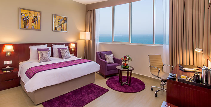 1 or 2 Night Stay at Landmark Hotel Fujairah