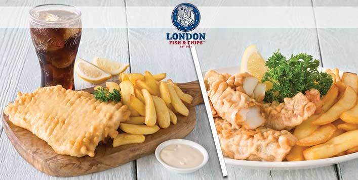 London Fish and Chips Meal Deal