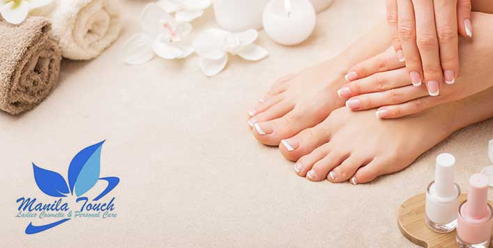 Classic, French or Gelish Mani & Pedi
