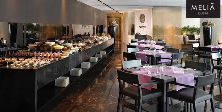 Grand Friday Brunch Buffet @ 5* Melia Dubai
