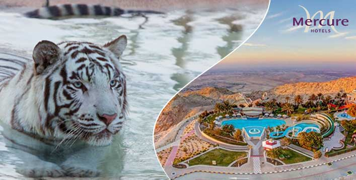 Stay with meal options and Zoo tickets