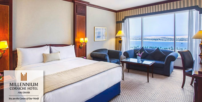 Millennium Corniche Hotel Stay for 2 Adults