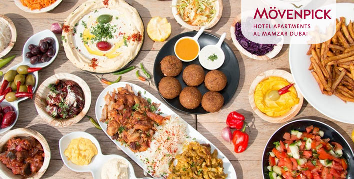 5* Arabic Friday Brunch at Spices Restaurant
