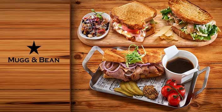 Mugg and Bean Buy 1 Get 1 Free Voucher