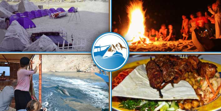 Beach Camping With Dolphin Watching Cruise