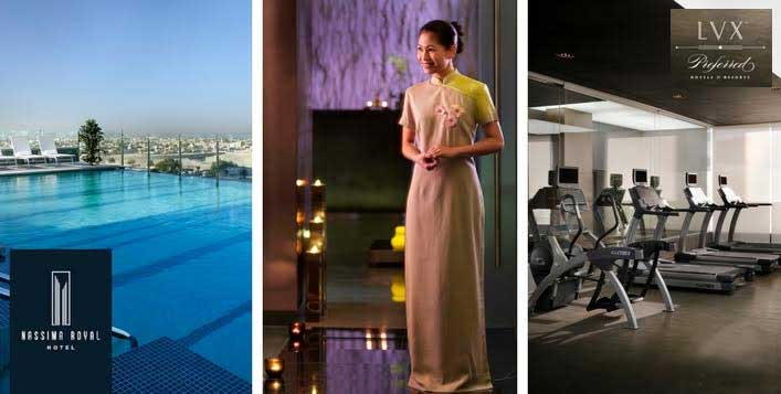 Nassima Royal Hotel Spa & Relaxation Packages