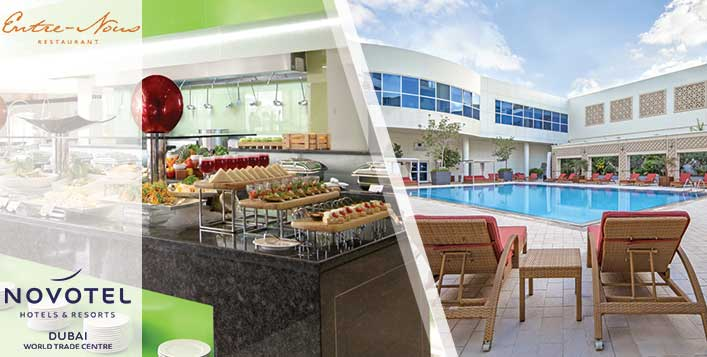 Enjoy brunch and pool access at Novotel WTC