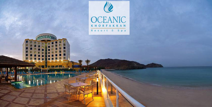 Stay at Oceanic Khorfakkan Resort & Spa