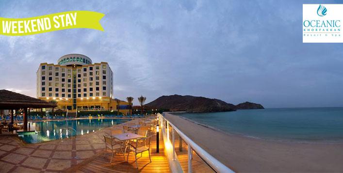 Stay, Meals at Oceanic Khorfakkan Resort