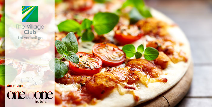 Pizza Meal at The Village Club from AED 29