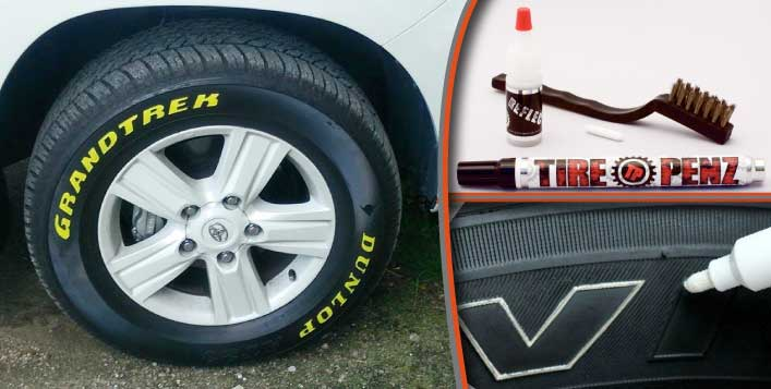 Style Your Car With Tire Penz!