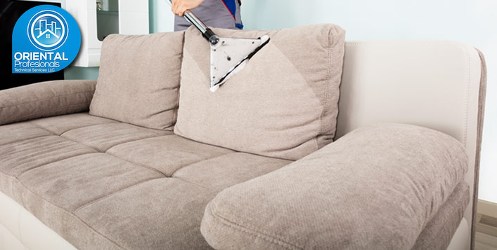 Fabric Sofa Shampooing up to 7 Seaters