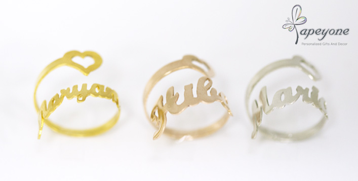 Gold, silver & rose gold options available!