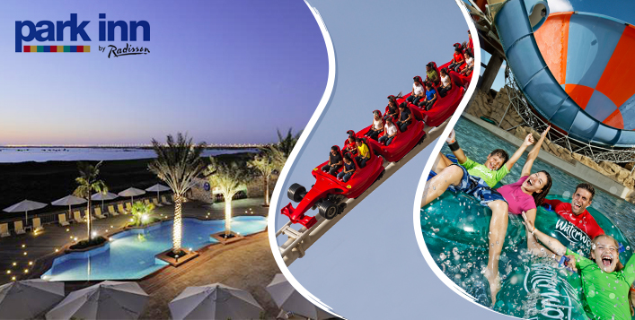 Stay+ Yas Water World & Ferrari World Tickets