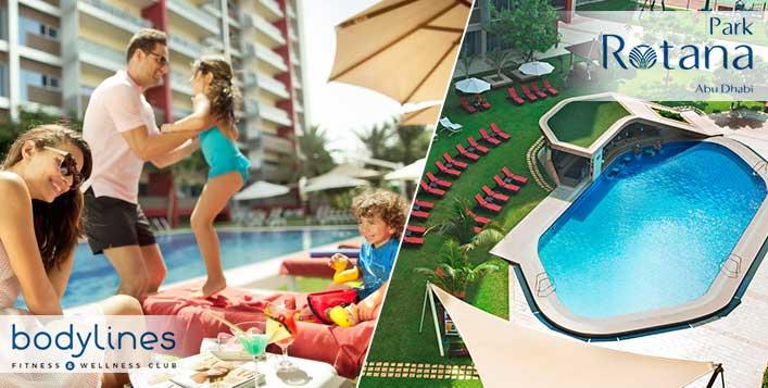 5* Pool Access + Food + Drink at Park Rotana